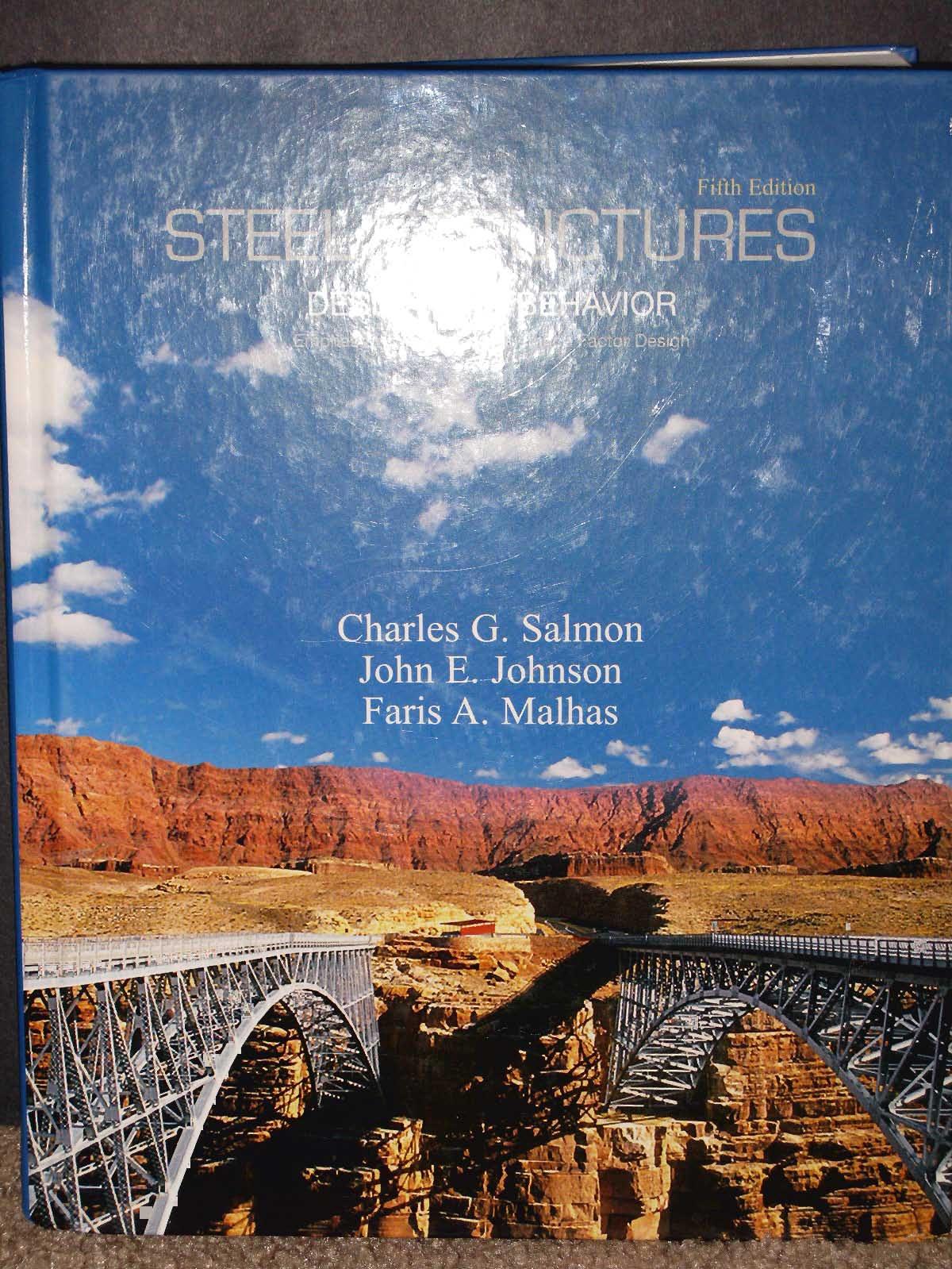 طراحی فولاد سالمون جانسون چاپ پنجم
